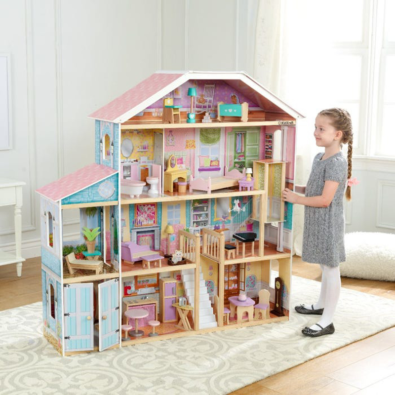 KidKraft® Hiška za punčke Grand view Mansion z dodatki