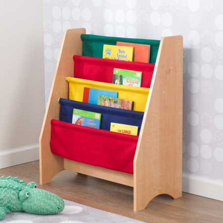 KidKraft® Otroška polica za knjige Primary/Natural