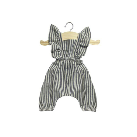 Minikane® Obleka za punčke Maya Stripe 34cm