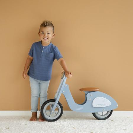 Little Dutch® Otroški poganjalec Scooter Blue