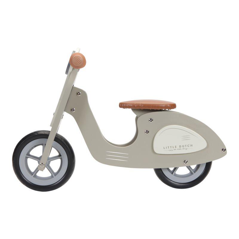 Little Dutch® Otroški poganjalec Scooter Olive