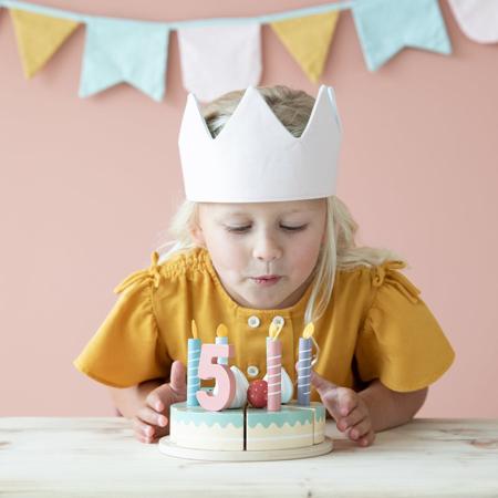 Little Dutch® Lesena rojstnodnevna torta