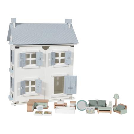 Slika Little Dutch® Lesena hiška za punčke
