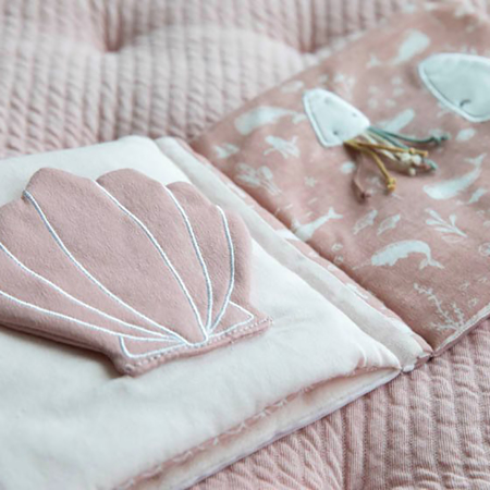 Little Dutch® Senzorična knjigica Kit Ocean Pink