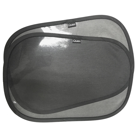 Slika Quax® Senčniki za avtomobilsko okno 2 kosa Samolepljivi