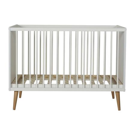 Slika Quax® Otroška posteljica Cocoon 120x60 Ice White