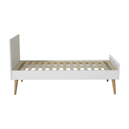 Quax® Otroška posteljica Cocoon 140x70 Ice White