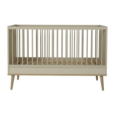 Slika Quax® Otroška posteljica Flow 140x70 Clay & Oak