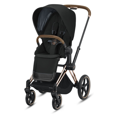Cybex® Otroški voziček s košaro 2v1 Priam Rose Gold (0-22 kg)