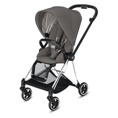 Slika Cybex® Otroški voziček Mios Chrome Black (0-22 kg)