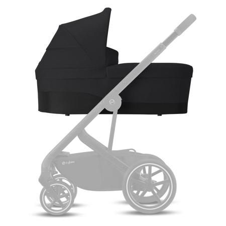 Cybex® Košara za voziček Balios Cot S Lavastone Black (0-22 kg)