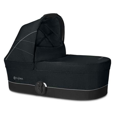Slika Cybex® Košara za voziček Balios Cot S Lavastone Black (0-22 kg)