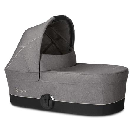 Slika Cybex® Košara za voziček Balios Cot S Manhattan Grey/Mid Grey (0-22 kg)