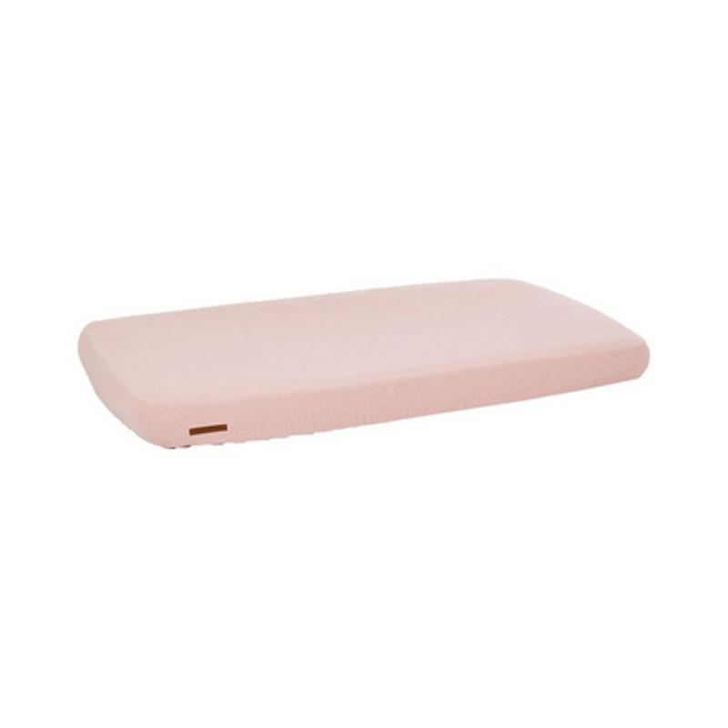 Little Dutch® Otroška napenjalna rjuha Pure Pink 60x120