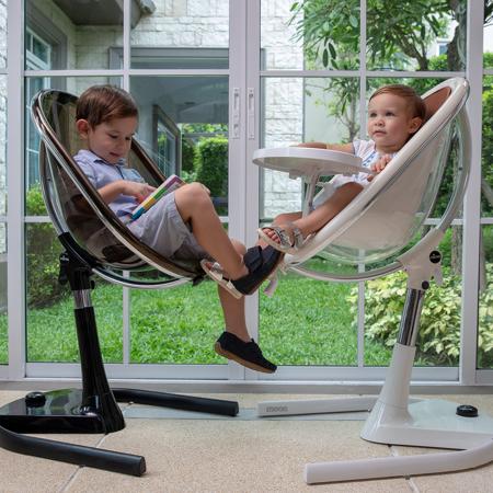 Mima® Visoki otroški stolček za hranjenje Moon™ White