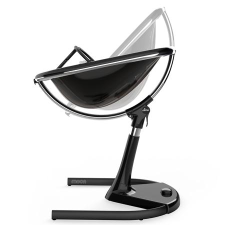 Mima® Visoki otroški stolček za hranjenje Moon™ Black