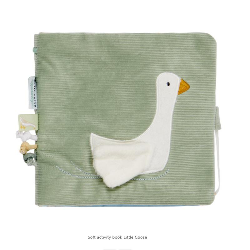 Little Dutch® Senzorična knjigica Little Goose