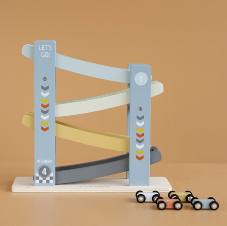 Little Dutch® Dirkalna steza Racer Cars