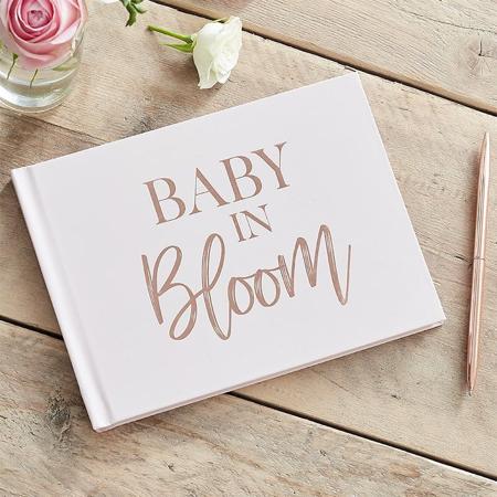 Slika Ginger Ray® Knjiga spominov za goste Baby in Bloom