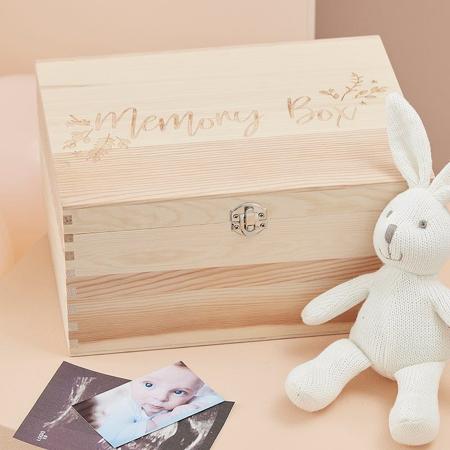 Slika Ginger Ray® Lesena škatlica Memory Box