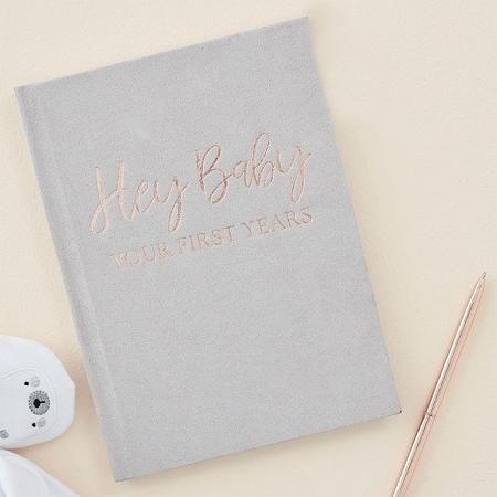 Slika Ginger Ray® Dojenčkov dnevnik Hey Baby