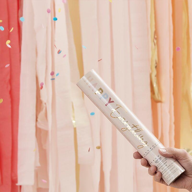 Ginger Ray® Strelec konfetov ECO Pastel