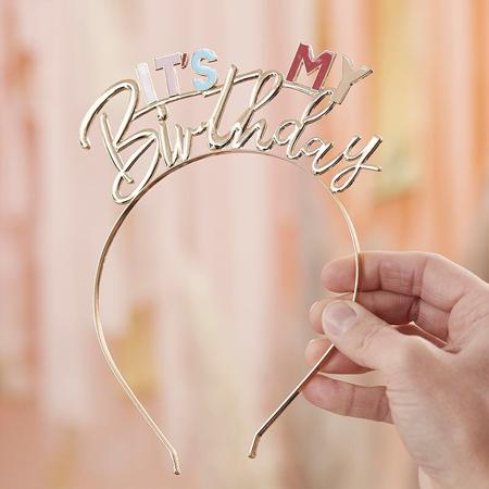 Slika Ginger Ray® Obroč za na glavo It's My Birthday