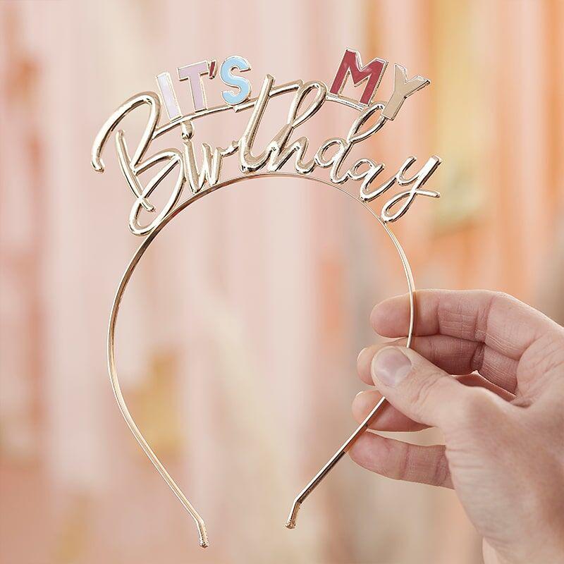 Ginger Ray® Obroč za na glavo It's My Birthday