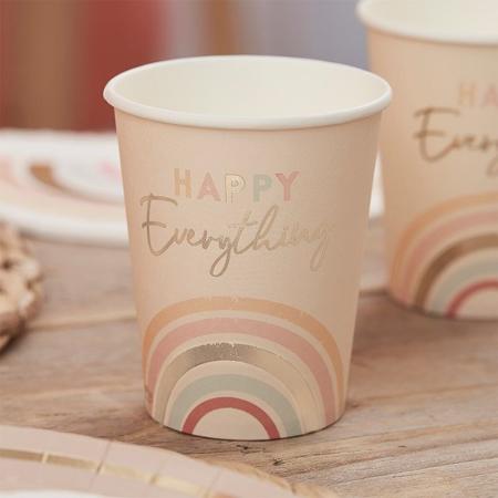 Slika Ginger Ray® Papirnati kozarčki Happy Everything 8 kosov