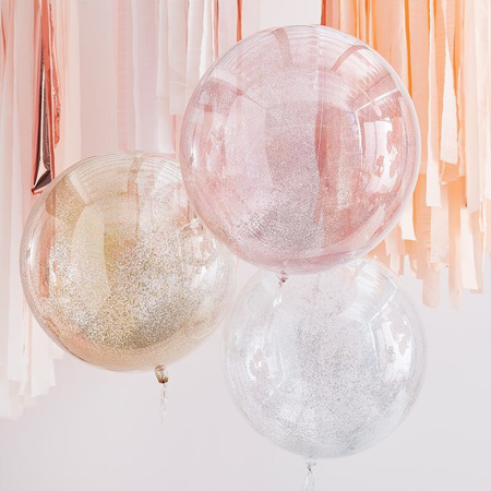 Slika Ginger Ray® Baloni Mix It Up Metallic Glitter Orbs