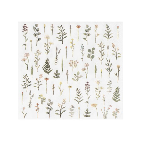 Ginger Ray® Serviete Floral 16 kosov