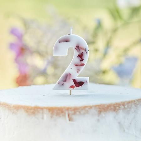 Slika Ginger Ray® Svečka Floral Številka 2