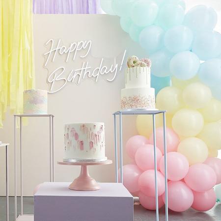 Slika Ginger Ray® Lok iz balonov Mix It Up Pastel