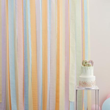 Ginger Ray® Trakovi za ozadje Mix It Up Pastel