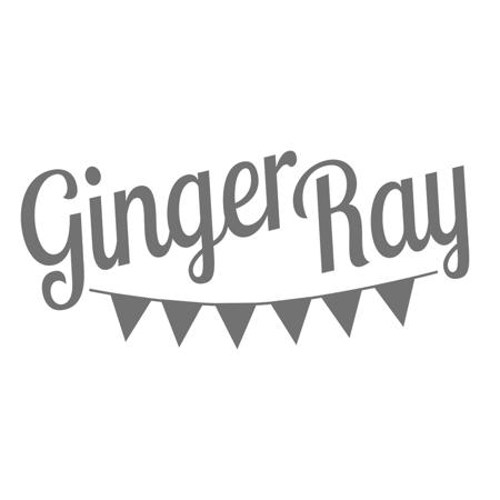 Ginger Ray® Papirnati krožniki Peach Gold Happy Birthday 8 kosov