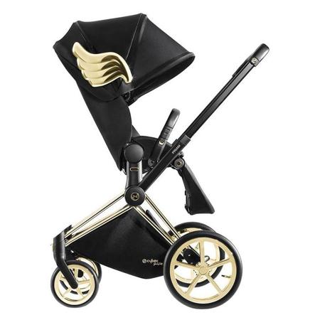 Cybex® Otroški voziček Priam JS RBAS Wings Black (9-22 kg)