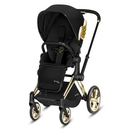 Cybex® Otroški voziček s košaro 2v1 Priam JS RBAS Wings Black (0-22 kg)