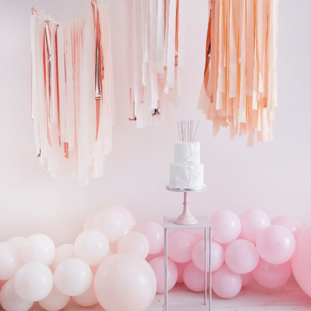 Slika Ginger Ray® Trakovi za ozadje Mix It Up Pink Blush Gold