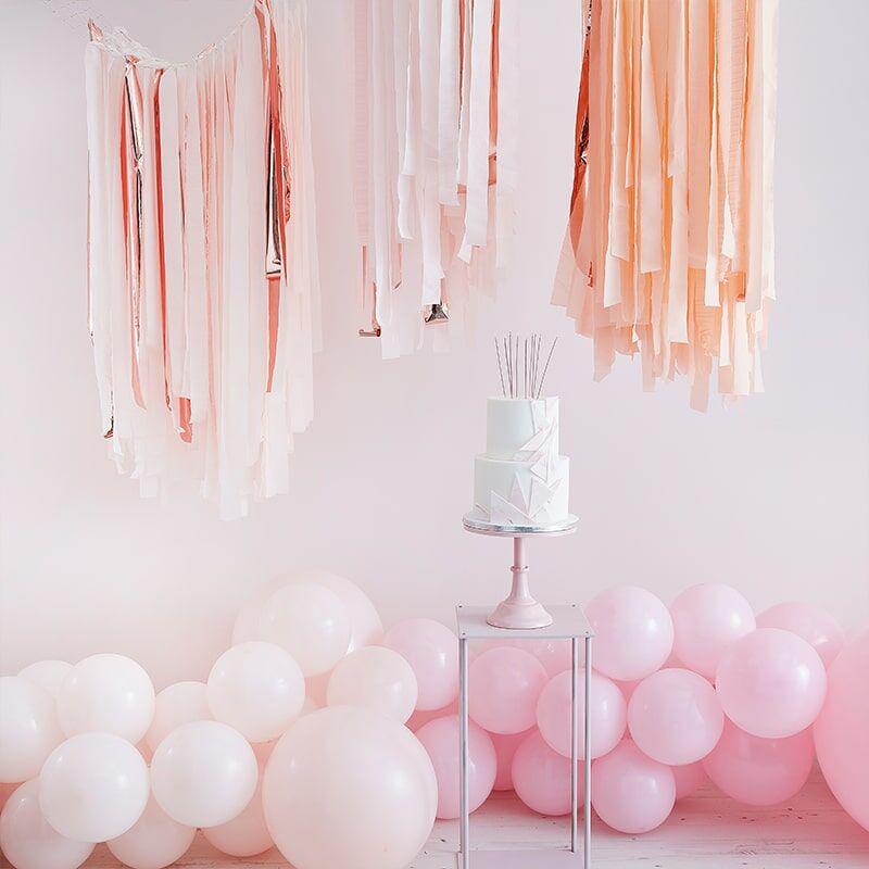 Ginger Ray® Trakovi za ozadje Mix It Up Pink Blush Gold