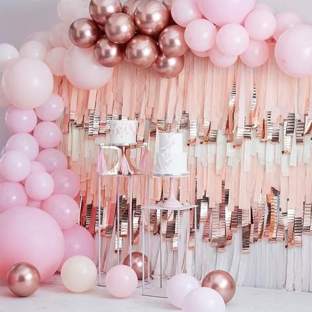 Slika Ginger Ray® Lok iz balonov Mix It Up Pink and Rose