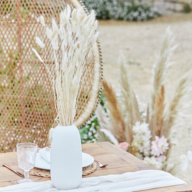 Ginger Ray® Namizna Dekoracija  Bunny Tails White