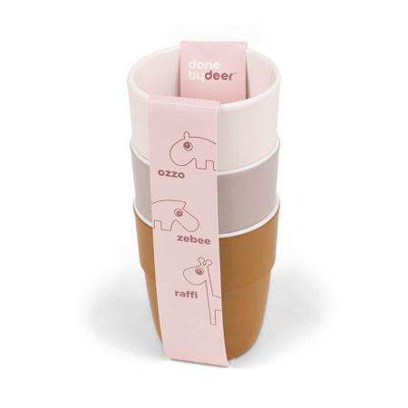 Done by Deer® Komplet 3 kozarčkov Yummy Mini Powder