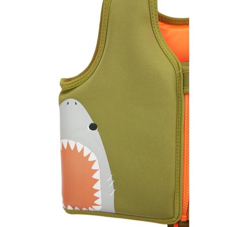 SunnyLife® Jopič za učenje plavanja Shark 1-2L