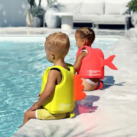 SunnyLife® Jopič za učenje plavanja Dino 1-2L