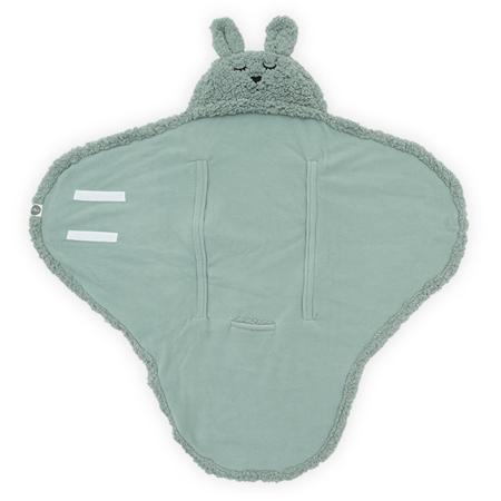 Jollein® Odeja za novorojenčke Bunny Ash Green 105x100
