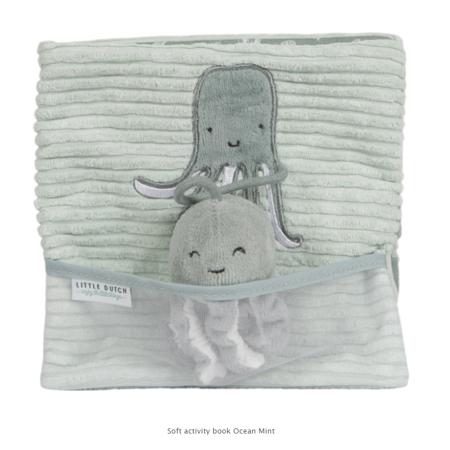 Slika Little Dutch® Senzorična potovalna knjigica Ocean Mint