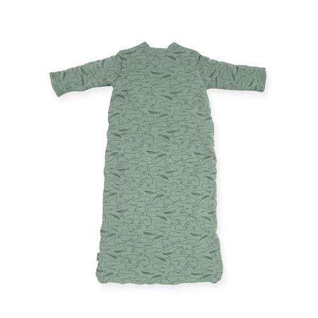 Jollein® Otroška spalna vreča za vse letne čase 90cm Whales Ash Green