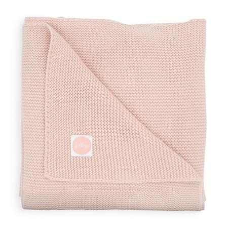 Jollein® Pletena odejica Pale Pink 100x75