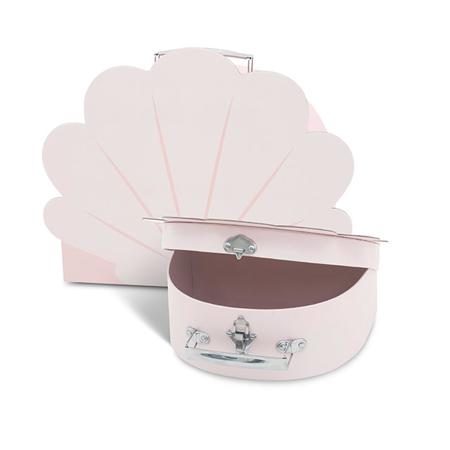 Slika Jollein® Komplet dveh kovčkov Shell Pale Pink