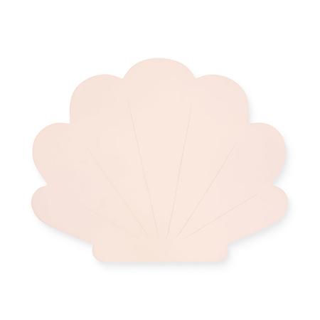 Slika Jollein® Stenska lučka Školjka Pale Pink